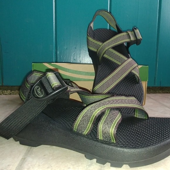 ce90585b65e8 Chaco Z1 Forest Green Men 7 BRAND NEW